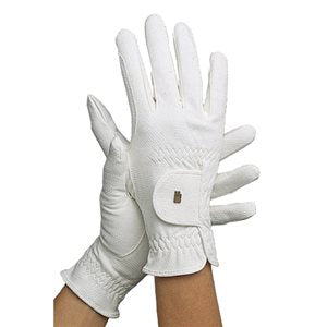 Roeckl Grip White Gloves