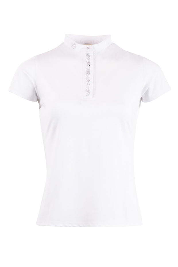 Montar Jocelyn Ladies Competition Shirt - White
