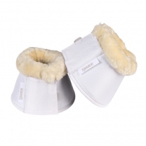Eskadron White Faux Fur Overreach Boots