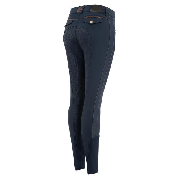ANKY SS21 Full seat Silicone Breeches dressed with Copper - Navy