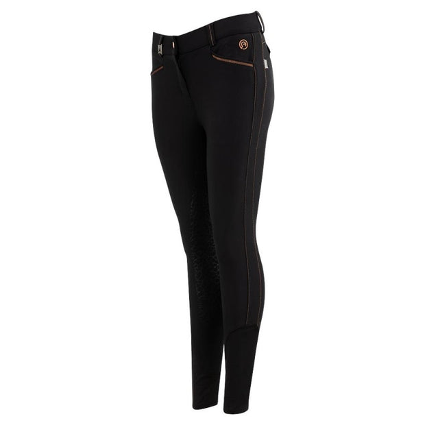 ANKY SS21 Full seat Silicone Breeches dressed with Copper - Black