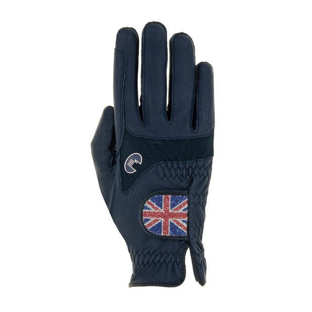 Roeckl Maryland GB Flag Gloves - Navy