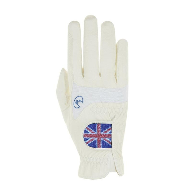 Roeckl Maryland GB Flag Gloves - White