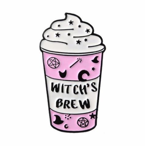 WITCH'S BREW MOOD PIN