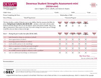 DESSA-Mini Stage 4 Assessment Forms (set of 25)