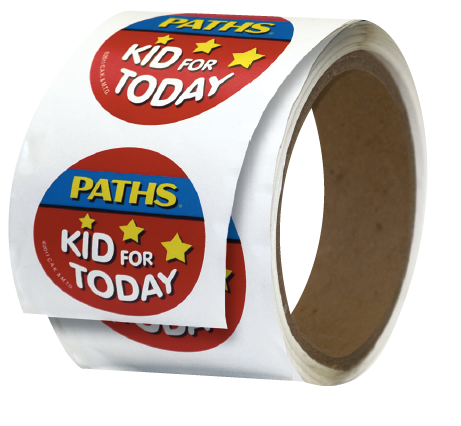 """PATHS® Kid for Today"" Stickers (set of 200)"