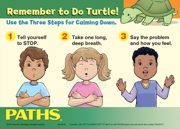 """Remember to Do Turtle!"" Cling - Classroom Set"