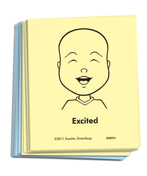 """Feeling Faces"" Cards - Preschool/Kindergarten Classroom Set"