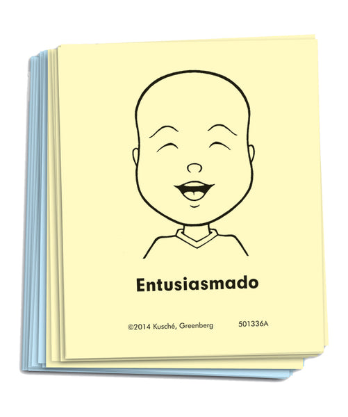 """Feeling Faces"" Cards - Preschool/Kindergarten Classroom Set [Spanish]"