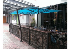 FIM C-Series 9.5' Square Cantilever Patio Umbrella