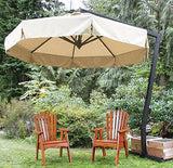 FIM P-Series 13' Octagon Cantilever Patio Umbrella