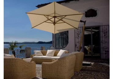 FIM C-series 10.5' Hexagon Offset Patio Umbrella