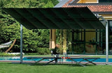 FIM Flexy Aluminum 10' x 12' Rectangular Offset Patio Umbrella