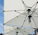Shademaker Libra 8'2 Square Pulley Lift Patio Umbrella (SMLIBRA25S)