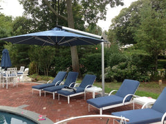 Shademaker Orion 13'1 Octagon Crank Lift Offset Patio Umbrella (SMOR40)