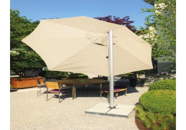 Shademaker Sirius 11'5 Octagon Crank Lift Offset Patio Umbrella (SMSR35)
