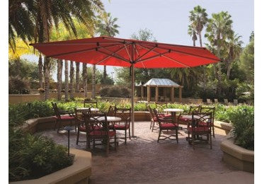Shademaker Astral 16'4 Octagon Pulley Lift Patio Umbrella (SMASTRALTC50)