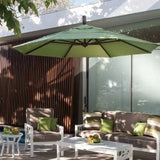 Treasure Garden 11' Octagon Cantilever Umbrella