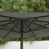Jardinico Centerpost Crank Lift 15' Octagon Patio Umbrella JCP.201