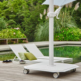 Jardinico Sidepost Crank Lift Patio Umbrella JCP.301