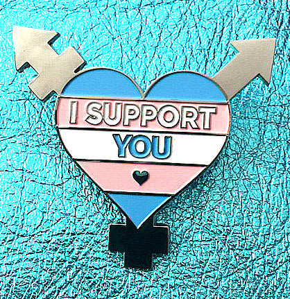 Enamel pin - I Support You