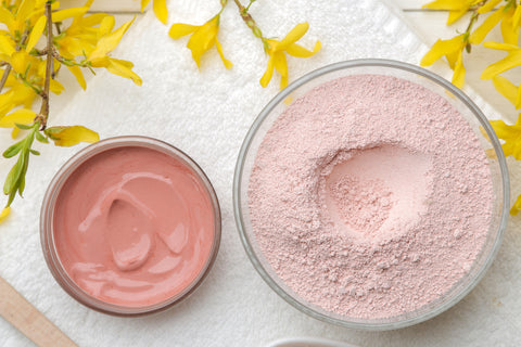 Bella Botanicals Rose Clay Face Mask