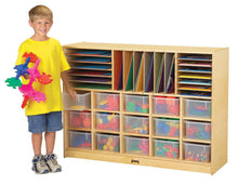 Load image into Gallery viewer, Jonti-Craft® Sectional Cubbie-Tray Mobile Storage - with Clear, Colored or No Trays