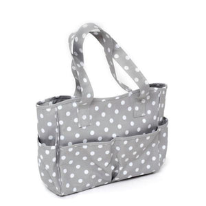 Hobby and Gift PVC Craft Bag - Grey Spot