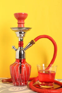 Hookah Thunder Red 12 Inch