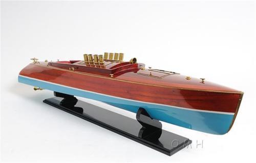 Handcrafted DIXIE II Wooden Model Boat