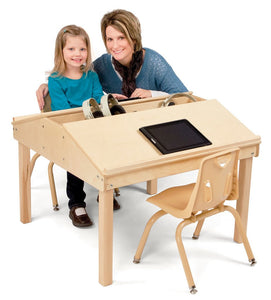 "Jonti-Craft® Quad Tablet And Reading Table - 20½"" High"