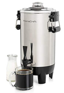 HomeCraft 30 Cup SS Hot Water Urn