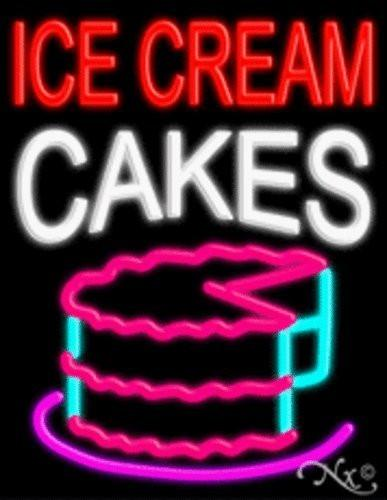 Ice Cream Cakes Handcrafted Energy Efficient Glasstube Neon Signs