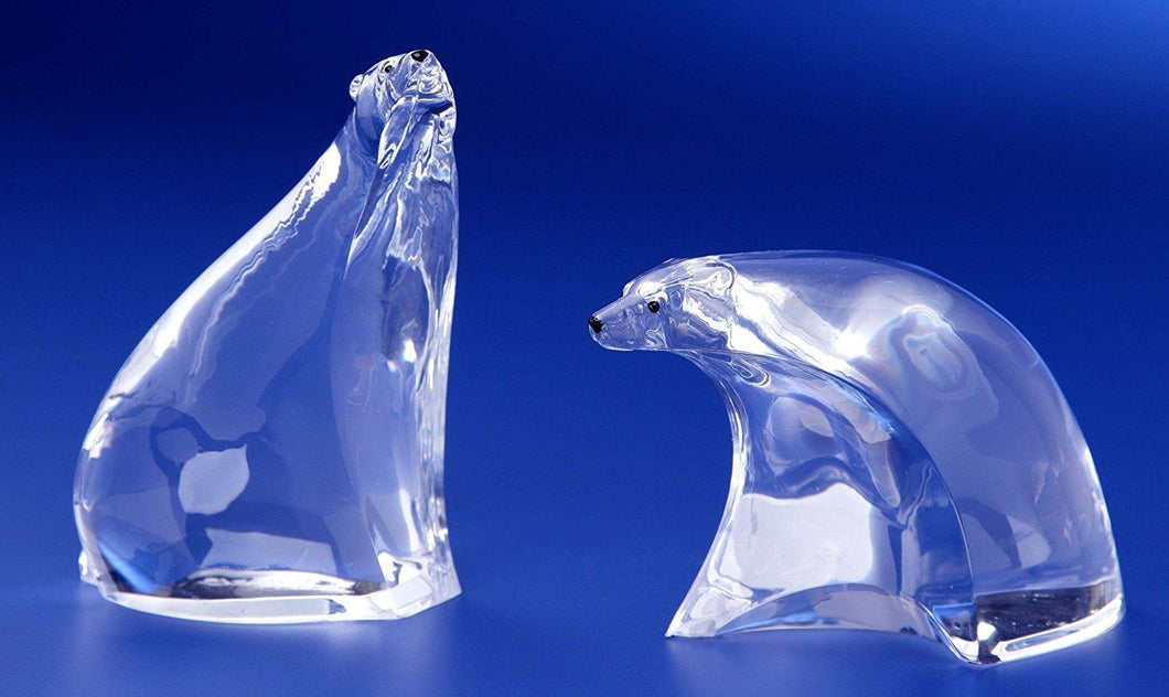 Icy Craft Contemporary Bears Figurine, Set of Two