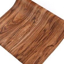 Load image into Gallery viewer, Buy f u walnut wood grain contact paper self adhesive shelf liner covering for kitchen cabinets doors drawers countertop arts and crafts 23 5x78 inch