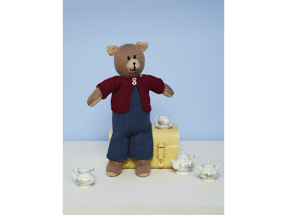 Knitted Bruno the Bear Toy in Stylecraft Special DK (9670)