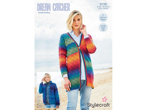 Jacket and Cardigan in Stylecraft Dreamcatcher DK (9726)