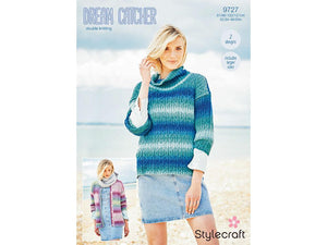 Jumper and Cardigan in Stylecraft Dreamcatcher DK (9727)