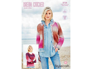 Jumper and Cardigan in Stylecraft Dreamcatcher DK (9728)