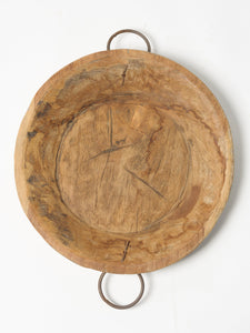 Handcrafted Indian Wooden Platter