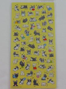 Cute Kawaii Mind Wave Dogs Puppies Sticker Sheet - for Journal Planner Craft Organizer Agenda Schedule