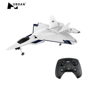 HUBSAN F22 310mm Wingspan EPO FPV RC Aircraft With 720P Camera & HT015B Transmitter With GPS