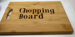 "Handcrafted solid wood ""Chopping Board"" chopping board"