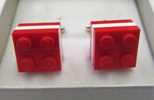 Handcrafted beautiful Lego cuff links
