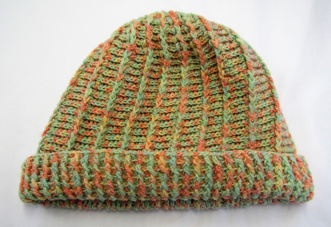 Handcrafted crochet woollen hats in various colours and sizes