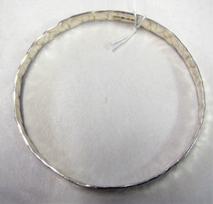 Handcrafted 925 sterling silver hallmarked bangles various sizes