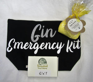 "Handcrafted  ""Gin Emergency Kit"" Gift set"
