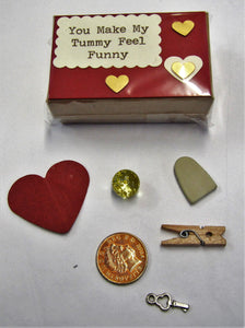 Handcrafted beautiful Valentines Day little boxes of happiness