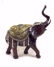 Load image into Gallery viewer, LUCKY HOME imitation mahogany elephant crafts home decorations ornaments