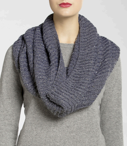 Isaac Mizrahi® Craft™ Broadway Brioche Knit Cowl
